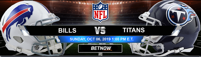 Buffalo Bills vs Tennessee Titans 10-06-2019 Odds, Picks and Preview