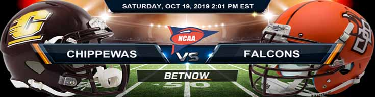 Central Michigan Chippewas vs Bowling Green Falcons 10-19-19 NCAAF Odds, Picks and Preview