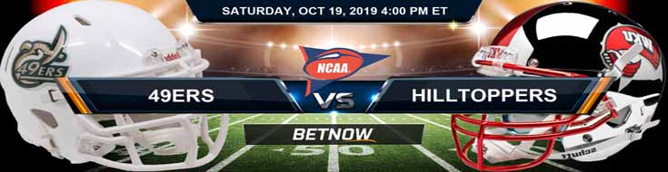 Charlotte 49ers vs Western Kentucky Hilltoppers 10-19-2019 NCAAF, Odds and Picks