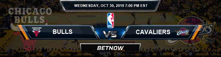 Chicago Bulls vs Cleveland Cavaliers 10-30-2019 NBA Spread and Prediction