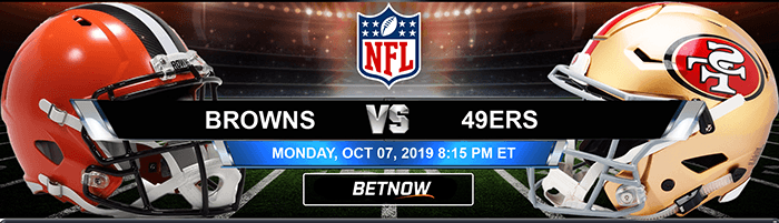 Cleveland Browns vs San Francisco 49ers 10-07-19 NFL Betting Odds and Picks