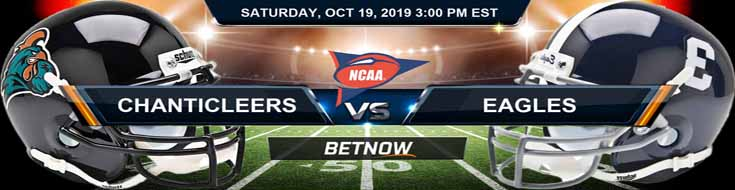 Coastal Carolina Chanticleers vs Georgia Southern Eagles 10-19-2019 Odds and Picks