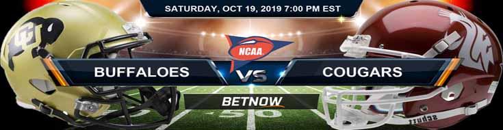 Colorado Buffaloes vs Washington State Cougars 10-19-2019 Picks