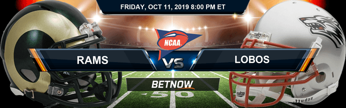 Colorado State Rams vs New Mexico Lobos 10-11-2019 Odds, Picks and Analysis