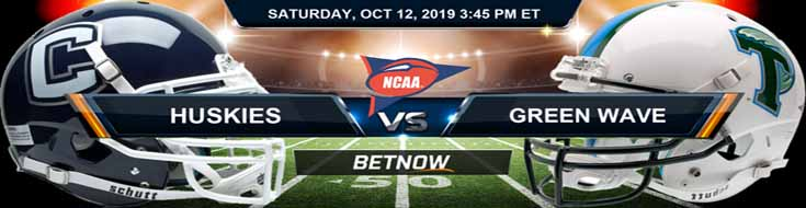 Connecticut Huskies vs Tulane Green Wave 10-12-2019 Picks Predictions Previews