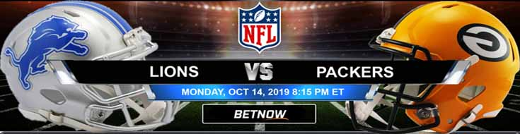 Detroit Lions vs Green Bay Packers 10-14-2019 Picks Predictions Previews