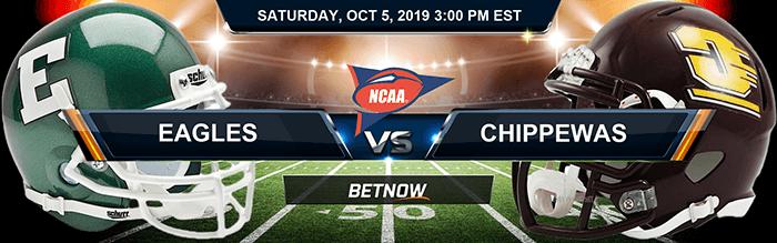 Eastern Michigan Eagles vs Central Michigan Chippewas 10-05-2019