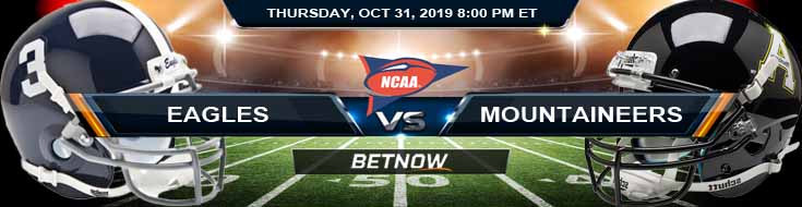 Georgia Southern Eagles vs Appalachian State Mountaineers 10-31-2019 Picks Predictions and Previews