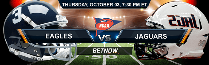 Georgia Southern Eagles vs South Alabama Jaguars 10/3/2019