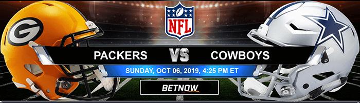 Green Bay Packers vs Dallas Cowboys 10-06-2019 Picks and Game Analysis