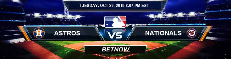Houston Astros vs Washington Nationals 10-29-19 MLB Picks and Previews