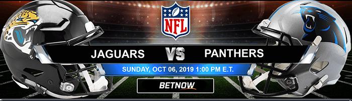 Jacksonville Jaguars vs Carolina Panthers 10-06-2019 Picks, Previews and Game Analysis