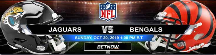 Jacksonville Jaguars vs Cincinnati Bengals 10-20-2019 Picks Predictions Previews