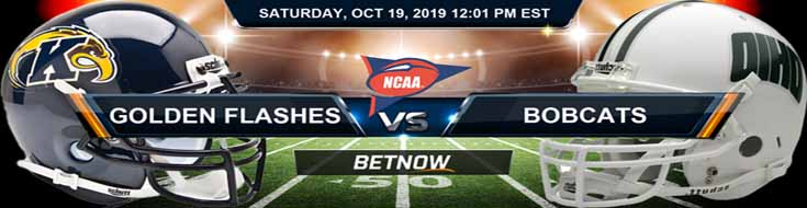 Kent State Golden Flashes vs Ohio Bobcats 10-19-19 NCAAF Odds and Picks