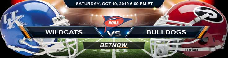 Kentucky Wildcats vs Georgia Bulldogs 10-19-2019 Picks Predictions Previews