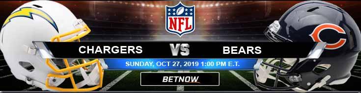 LA Chargers vs Chicago Bears 10-27-2019 Picks Predictions Previews