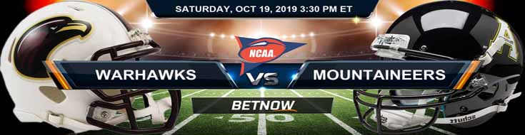 Louisiana-Monroe Warhawks vs Appalachian State Mountaineers 10-19-19 Picks Predictions Previews