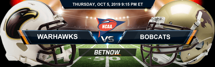 Louisiana Warhawks vs Texas State Bobcats 10/10/2019 Odds and Picks