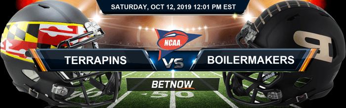 Maryland Terrapins vs Purdue Boilermakers 10-12-2019 NCAAF Expert Picks
