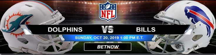 Miami Dolphins vs Buffalo Bills 10-20-2019 NFL Expert Picks and Odds