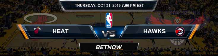 Miami Heat vs Atlanta Hawks 10-31-2019 NBA Spread and Game Analysis