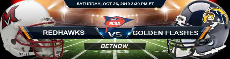 Miami-OH RedHawks vs Kent State Golden Flashes 10-26-2019 Picks Predictions and Previews
