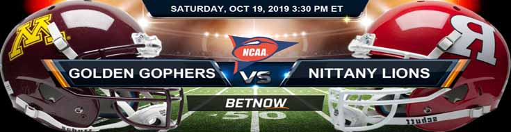 Minnesota Golden Gophers vs Rutgers Scarlet Knights 10-19-2019 Picks Predictions Previews