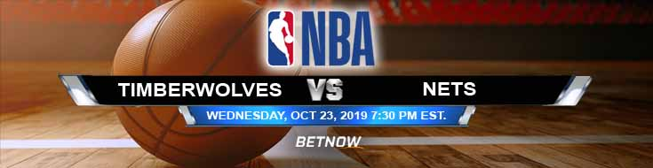 Minnesota Timberwolves vs Brooklyn Nets 10-23-2019 Previews, Game Analysis, Prediction