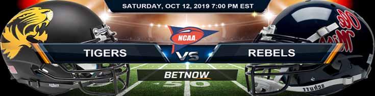 Missouri Tigers vs Mississippi Rebels 10-12-2019 NCAAF Expert Picks