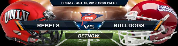 Nevada-Las Vegas Rebels vs Fresno State Bulldogs 10-18-2019 NCAAF Expert Odds and Picks