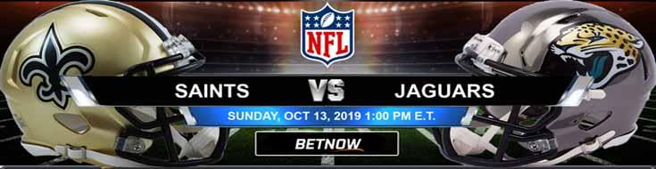 New Orleans Saints vs Jacksonville Jaguars 10-13-2019 Picks Predictions Previews