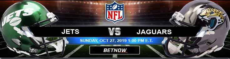 New York Jets vs Jacksonville Jaguars 10-27-2019 Picks Predictions and Previews