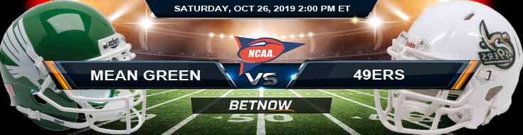 North Texas Mean Green vs Charlotte 49ers 10-26-2019 Picks Predictions Previews