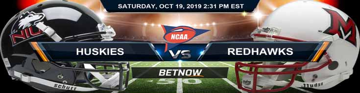 Northern Illinois Huskies vs Miami Ohio RedHawks 10-19-19 Picks