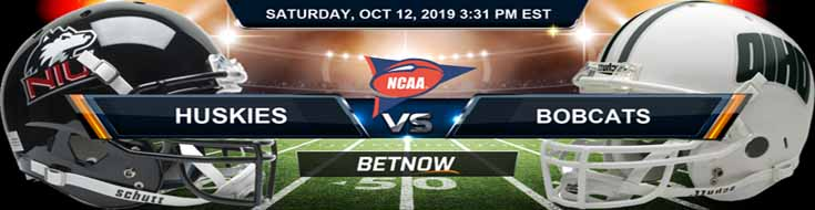 Northern Illinois Huskies vs Ohio Bobcats 10-12-2019 Picks Predictions Preview