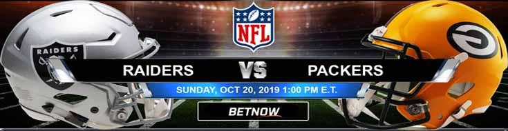 Oakland Raiders vs Green Bay Packers 10-20-2019 Picks Predictions Previews