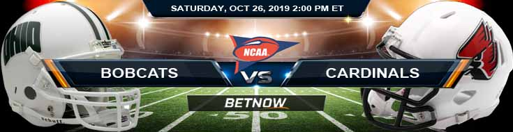 Ohio Bobcats vs Ball State Cardinals 10-26-2019 Previews Predictions and Picks