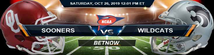 Oklahoma Sooners vs Kansas State Wildcats 10-26-2019 Odds Picks and Preview