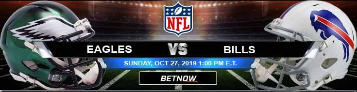 Philadelphia Eagles vs Buffalo Bills 10-27-2019 Spreads Odds and Previews