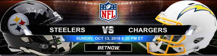 Pittsburgh Steelers vs Los Angeles Chargers 10-13-2019 NFL Odds and Picks
