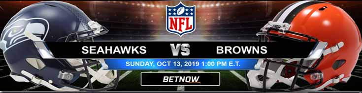 Seattle Seahawks vs Cleveland Browns 10-13-2019 NFL Betting Spread
