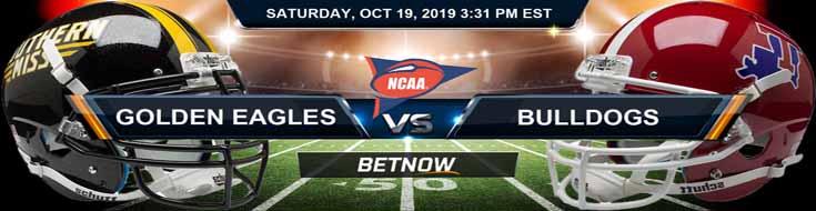 Southern Mississippi Golden Eagles vs Louisiana Tech Bulldogs 10-19-19 Picks