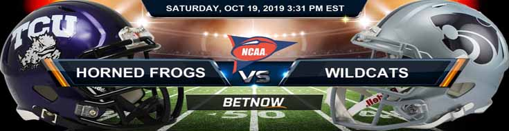 TCU Horned Frogs vs Kansas State Wildcats 10-19-19 Picks Predictions Preview