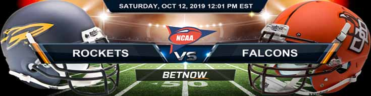 Toledo Rockets vs Bowling Green Falcons 10-12-2019 Odds and Game Analysis