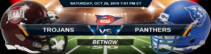 Troy Trojans vs Georgia State Panthers 10-26-2019 Game Analysis, Picks and Odds