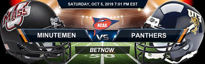UMASS Minutemen vs Florida International Panthers 10-5-2019 Previews
