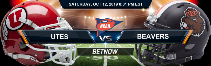 Utah Utes vs Oregon State Beavers 10-12-2019 NCAAF Expert Picks