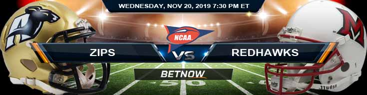 Akron Zips vs Miami-OH RedHawks 11-20-2019 Picks Predictions and Previews