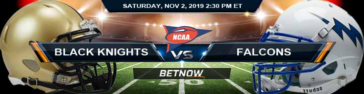 Army Black Knights vs Air Force Falcons 11-02-2019 Picks Predictions and Previews