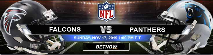 Atlanta Falcons vs Carolina Panthers 11-17-2019 Previews Game Analysis and Predictions